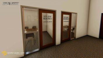 New Study Rooms